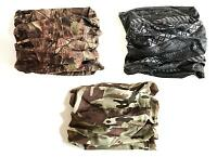 ARMY MICROFIBRE HEADOVER mens neck face warmers Mountain Military hiking snood