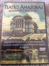 Teatro Amazonas Documentário de Aurélio MIchiles DVD New Sealed