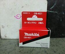 195005-4 Carbon Brush set CB-401 Makita genuine part for drill