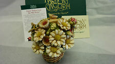 Harmony kingdom Daisy Basket From May Series Signed Limited Edition