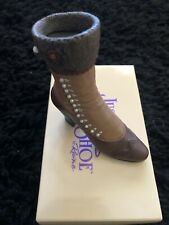"""Just The Right Shoe """"High Buttoned Boot"""" By Raine - Free Shipping"""