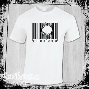Freedom Bar Code Chase Freedom Freedom riders Men's T- Shirt