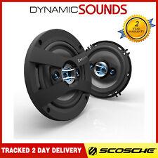 "Scosche HD6504 400 WATTS 6.5"" 16cm 4 Way Car Dash Shelf Speakers For PEUGEOT 206"