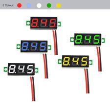 Mini DC 30V 2 Wire LED Digital Tube Display Panel Volt Meter Voltage Voltmeter