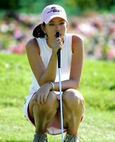 GLOSSY PHOTO PICTURE 8x10 Michelle Wie Thoughtful On The Golf Course