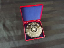 The Master Key Chromatic Pitch Pipe Instrument A-440 13 key Mk1-F clean red case