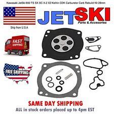 Kawasaki JetSki 650 TS SX SC X-2 X2 Keihin CDK Carburetor Carb Rebuild Kit 28mm