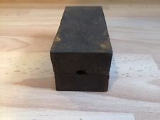 Vintage Lead Weight Mould Sea Boat Fishing