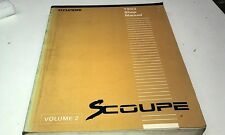 1993 HYUNDAI S COUPE  Factory Workshop Manual Volume 2
