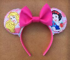 Disney Princess Favorites Minnie Mouse Ears Headband Disneyworld Or Disneyland