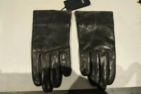 HUGO BOSS Brown Leather Gloves - Brand New With Tags RRP - £99 - Medium