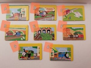 A Day Out With Thomas Game Briarpatch GAME PARTS ONLY 2 Story Cards