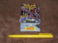 (1999) Juha KANKKUNEN /Subaru Impreza WRC/ - Subaru/Pirelli Aufkleber/sticker