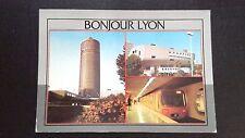 CPM Lyon centre commercial part Dieu métro 1989