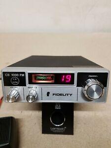 UK40 FM CB Radio, Fidelity 1000. Simple but solid radio, works perfectly, 4w.
