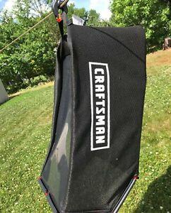 New Craftsman Lawnmower Grass Bag Dust-Blocker EZ Empty AGR 764-04082B No Frame