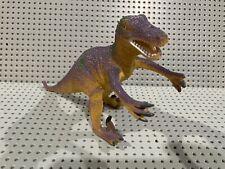 Vintage Velociraptor 8� Hard Plastic Toy Dinosaur Figure ~ 1993