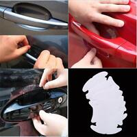 8pcs Invisible Car Truck Door Cup Handle Scratches Protective Protector Films