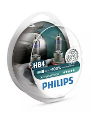 Philips HB4 X-tremeVision +100% Brighter Car Auto Headlight Bulbs 12V 51W (PAIR)
