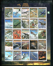 MARSHALL ISLANDS 600, 1995 FIGHTERS, SHEET OF 25, MNH (ID7242)