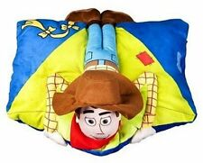 "Disney Toy Story Folding Woody Pillow Pal 18""  Cuddly Plush Toy"