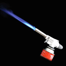920 Automatic Electronic Flame Gun Butane Burners Gas Adapter Torch Lighter Tool