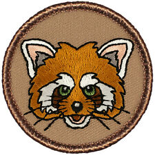 Cool Boy Scout Patch - The Red Panda Patrol! (#833)