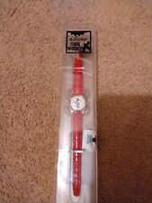New listing Minnie Mouse Disney Time Works Watch genuine Leather Band