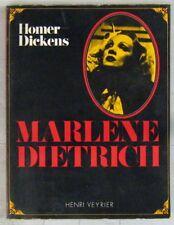 Marlène Diétrich Livre Homer Dickens 1974