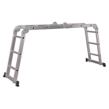 AFPL1 Sealey Aluminium Folding Platform Ladder 4-Way EN 131 [Ladders]