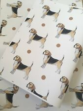 Beagle, Wrapping Paper, Gift Wrap, For Beagle Lovers, Read Description