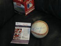 Joe Frazier AUTOGRAPHED Baseball JSA Certified