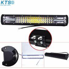 20'' Inch Quad-row LED Work Light Bar Combo Offroad Driving Lamp Car Trucks Boat