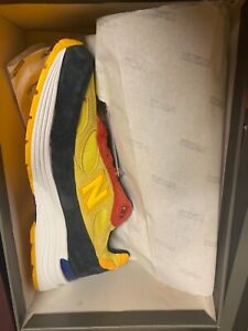 New balance 992 (m992DM) yellow red brand new