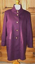 Women's Formal Wool Blend Button Full Length Coats & Jackets
