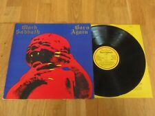 Black Sabbath Born Again A2/B1 1st Press Vertigo *Stunning* Audio Hardly Played