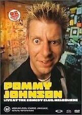 POMMY JOHNSON Live at the Comedy Club, Melbourne - Like New- Region 4- Free Post