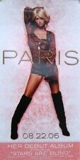 PARIS HILTON POSTER, DEBUT ALBUM PROMO (Y1)