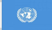 UN FLAG 5' x 3' United Nations World  Peace Keepers Military