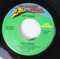 Rock 45 Cliff Richard - Devil Woman / Love On (Shine On) On The Rocket Record  2