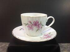 Lovely China Porcelain Teacup & Saucer Set