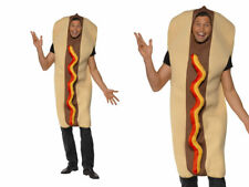 Hot Dog Mens Novelty Stag Night Hen Night One Size With Mustard and Ketchup