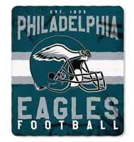 "The Northwest NFL Fleece Singular 50""x60"" Throw Blanket, Philadelphia Eagles"