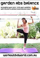 Pilates Ballet Barre Fusion EXERCISE DVD Barlates Body Blitz GARDEN ABS BALANCE