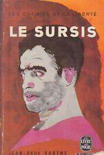 C1 Jean Paul SARTRE Les CHEMINS DE LA LIBERTE - 2 - LE SURSIS Poche