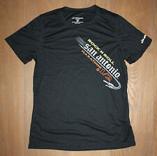 NEW Men's 2013 SAN ANTONIO MARATHON BROOKS Black RUNNING JOGGING Shirt - MEDIUM