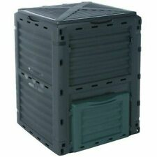 300l Garden Composter Eco Compost Coverter Recycling Soil Storage Bin 776861