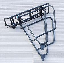 XLC Gepäckträger RP-R15 carry more schwarz mit Packtaschenbügel NUR für Fatbike