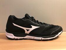 Mizuno Synchro MX Black Athletic Running Baseball Shoes Men's Size 13