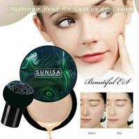 SUNISA Air Cushion Mushroom Head CC Cream BB Concealer Moisturizing Cosmetics UK